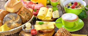 Zum Frühstück